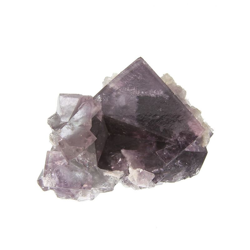 Fluorite (penetration twin) (classic material (ex Tom Campbell Collection)