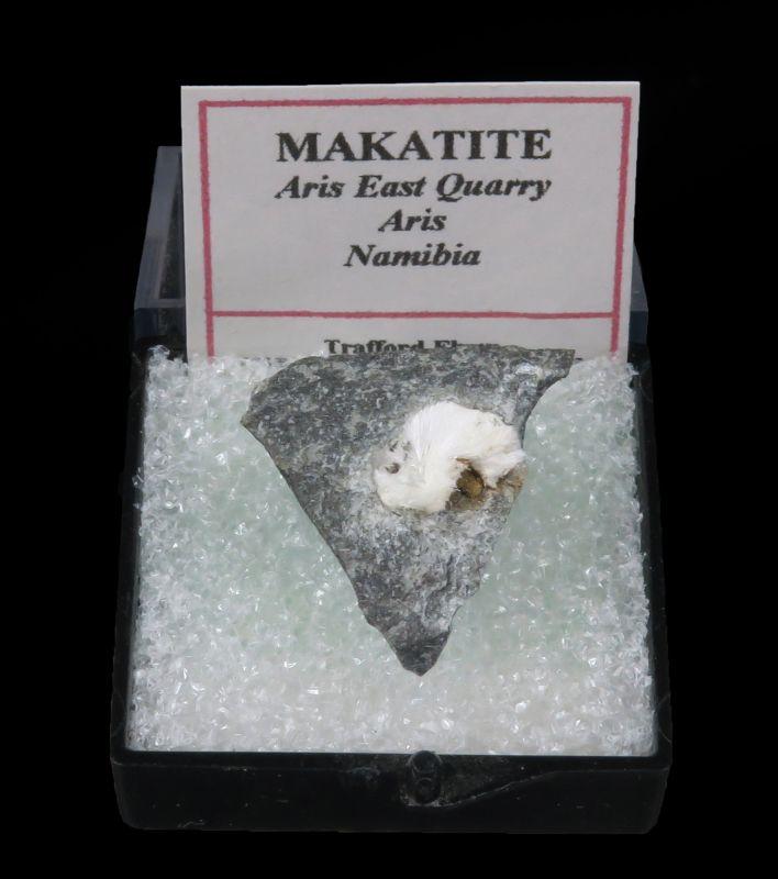 Makatite (rare silicate) Shields Flynn Coll.