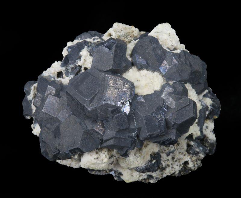 Galena & Calcite & Calcite casted after Galena (rare old classic)