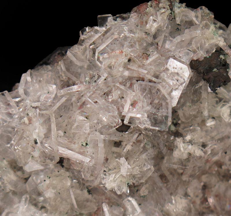 Apophyllite, Calcite & Copper (rare, circa 1900 ) George Kunz !