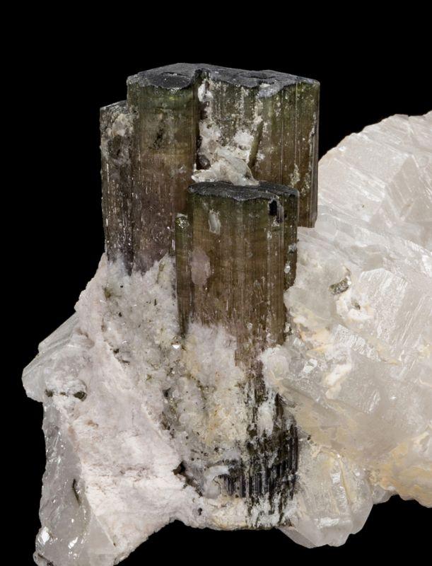 Bi-colored Tourmaline & Quartz (Sanabria Coll.)