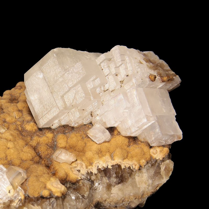 Calcite on Siderite (ex Gary Weaver Collection)