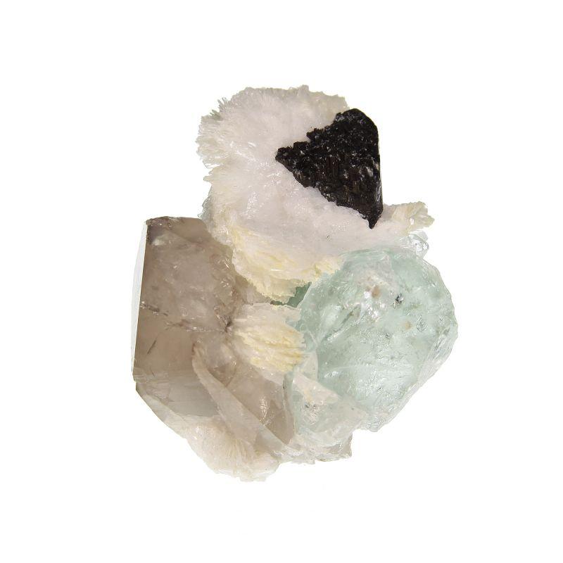 Fluorite with Schorl (ex David Burgess Collection)