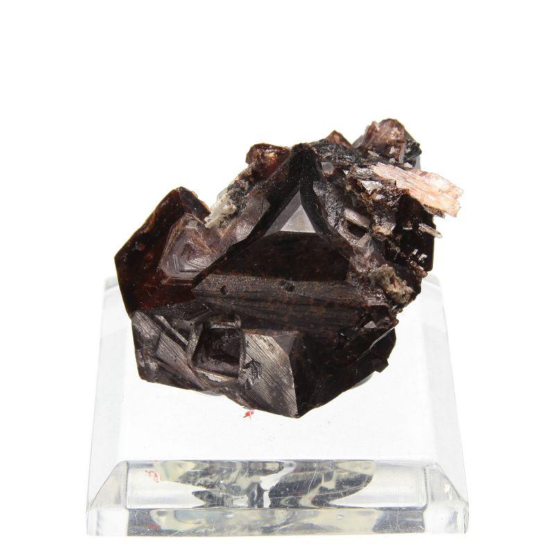 Rhodochrosite (fine large crystals) (ex William Logan Collection)