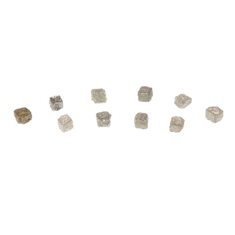 Diamond (10 crystal set) (3.89 carats)