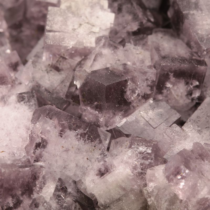 Fluorite (color shift twinned crystals)