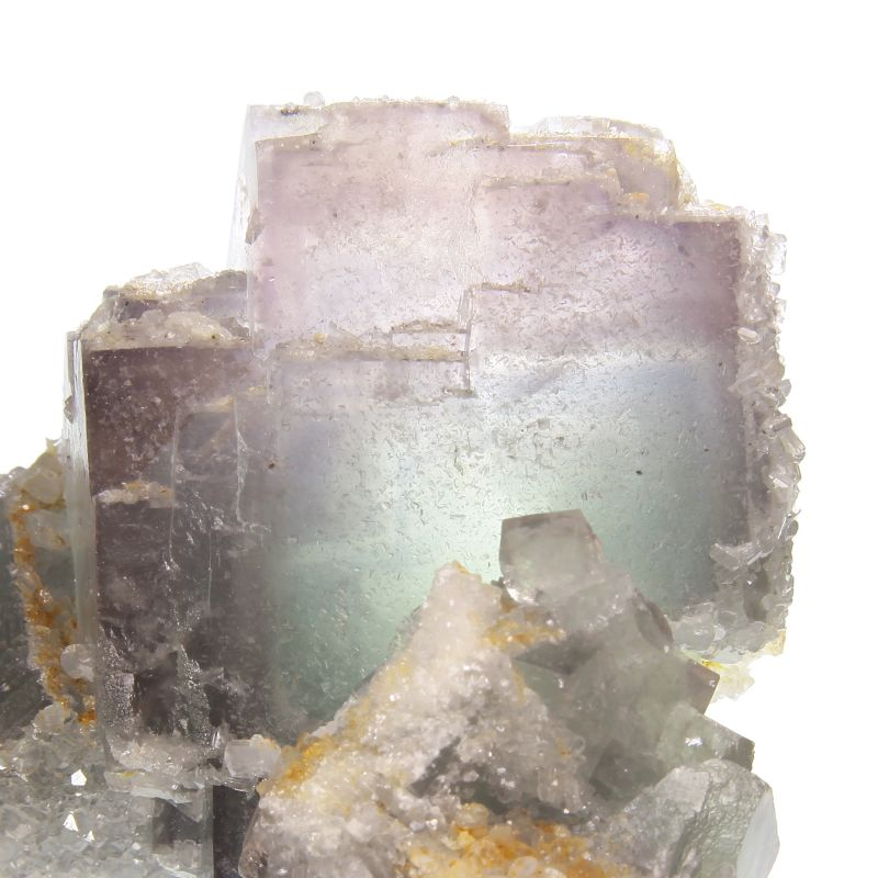 Fluorite with Calcite (ex Dr. Stephen Smale Collection)