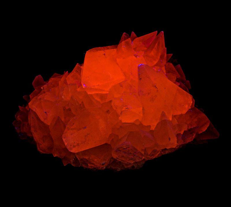 Large Calcite (RARE locale - fluorescent) Gary Weaver Coll.