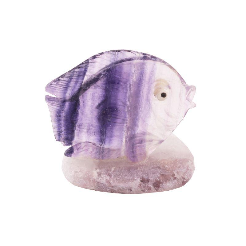 Fluorite Carving, Fish (22.30 grams)