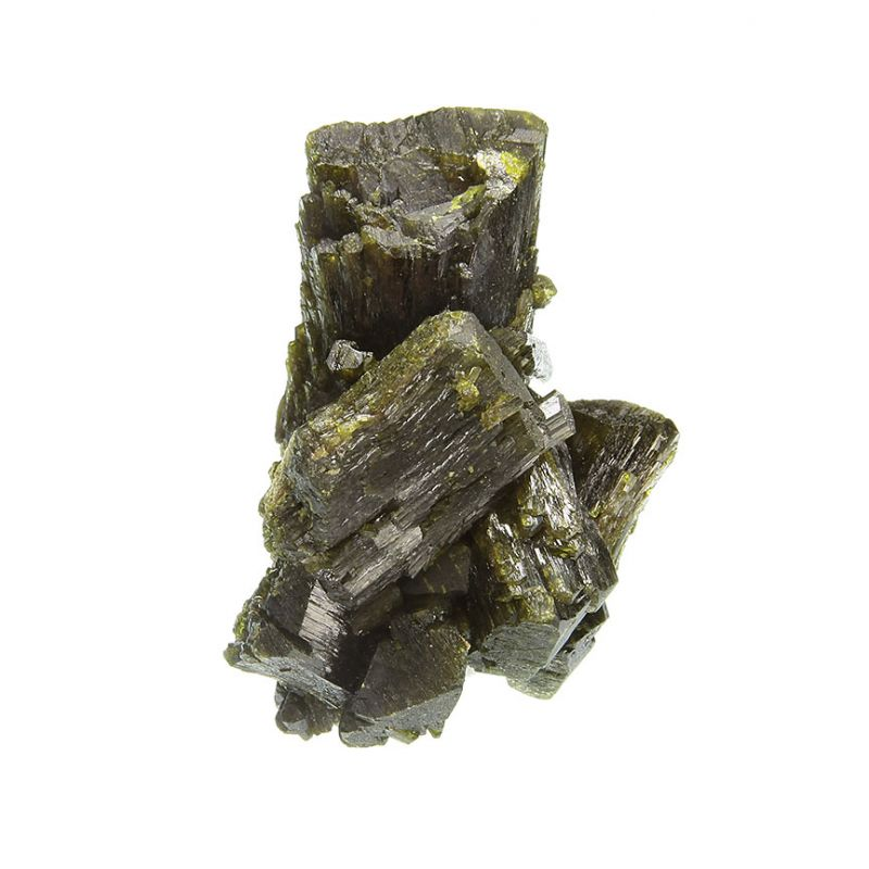 Epidote (doubly-terminated crystals)