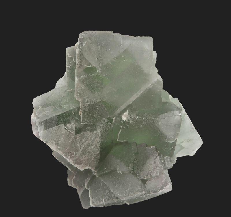 Fluorite (fluorescent) with Quartz
