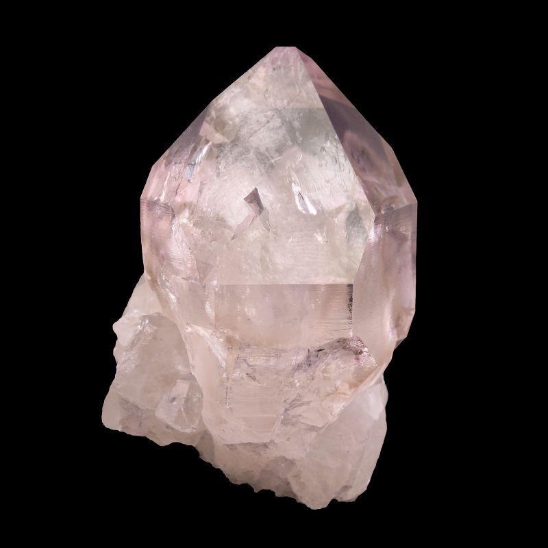 Amethystine Quartz (GEM quality crystal)