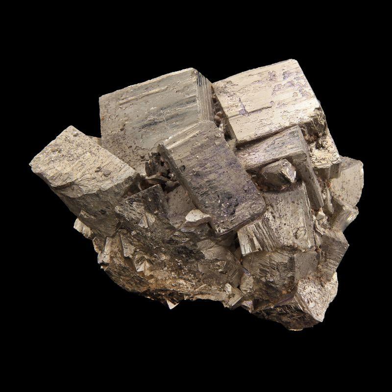 Molybdenite on Pyrite (rare material)