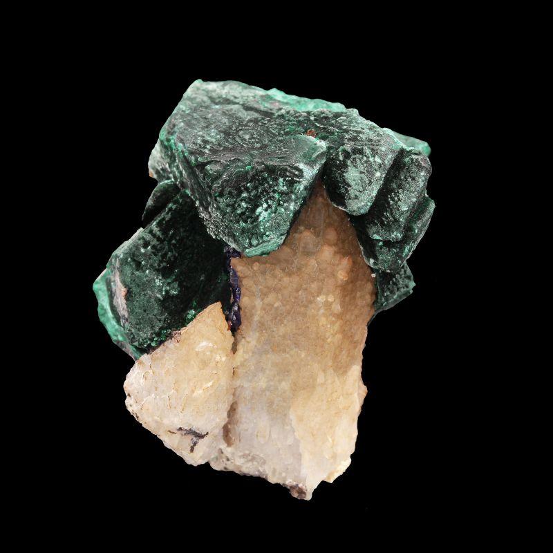 Malachite pseudomorph after Azurite (ex Kay Robertson Collection)
