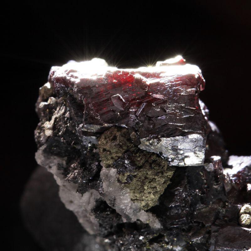 Pyrargyrite (good quality)