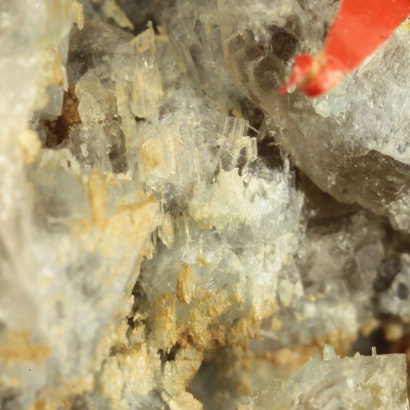 Bertrandite (rare locality specimen) (ex Kay Robertson Collection)