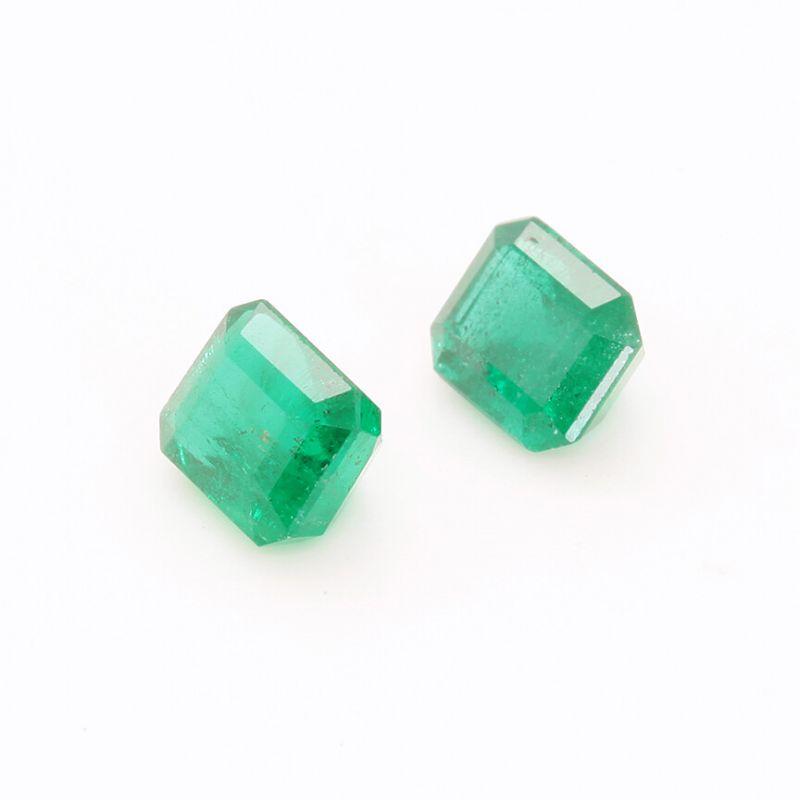 Emerald (2 stone set)