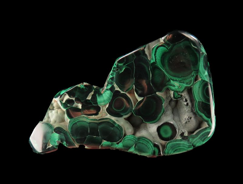 fine polished Malachite
