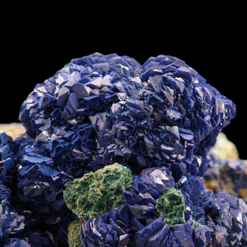 Azurite with Malachite (ex Chet Lemanski Collection)