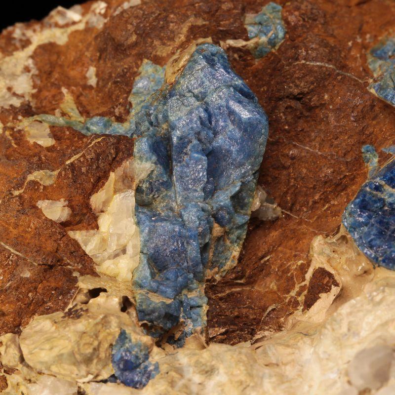 Lazulite (rare, classic locality specimen)