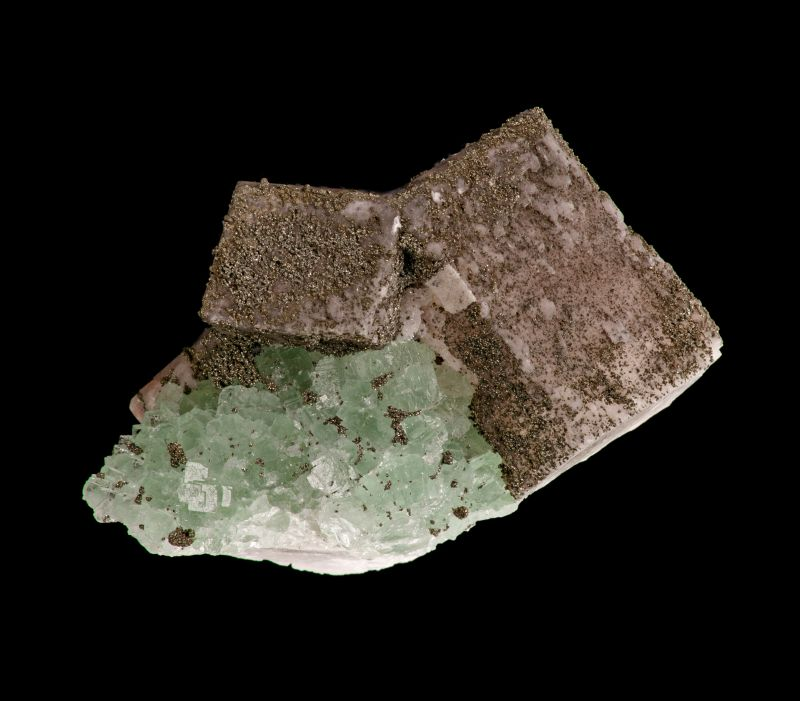 Calcite, Fluorite & Pyrite (Chet Lemanski Coll.)