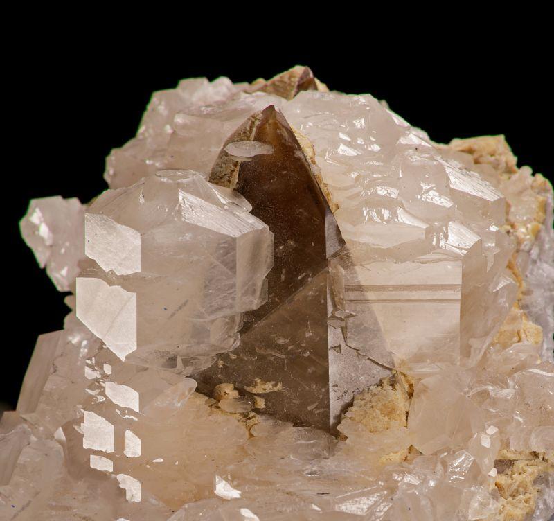 Calcite (rare style - 2 generations) Heinz Gugeler Coll.