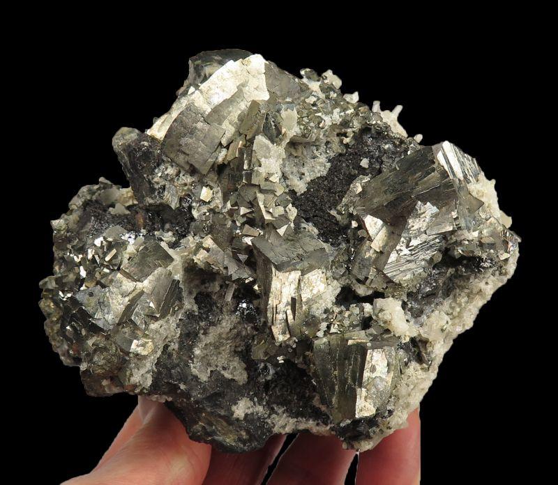Arsenopyrite, Sphalerite & Quartz (Univ. of Arizona Coll.)